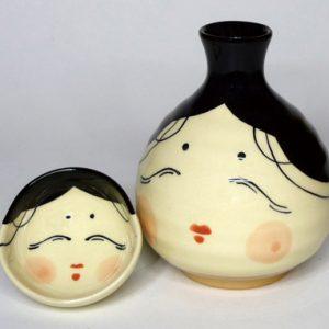 New Okame Sake Set