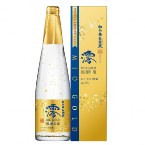 Mio GOLD Sparkling Sake