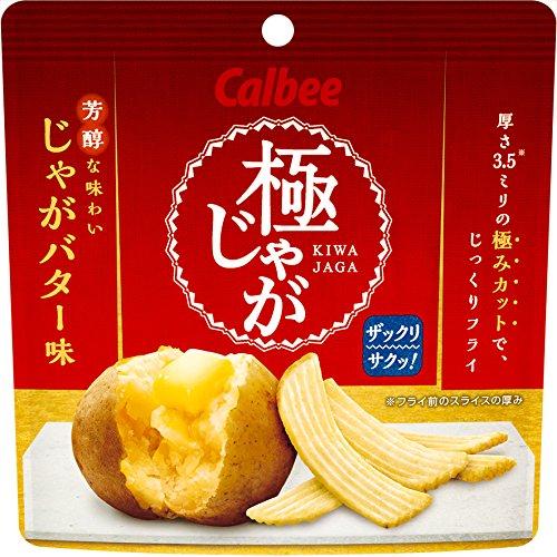 Calbee Kyokujaga Butter Potato flavor