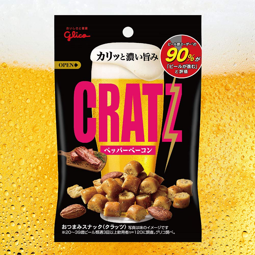 Ezaki Glico Kratz Pepper Bacon