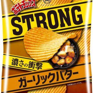 Koikeya Potato Chips STRONG Garlic Butter